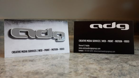 ADG New Business Cards